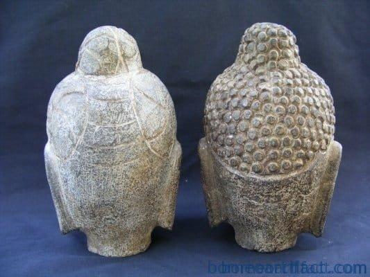 carvedfromstone~buddhahead~oldhinduasiarare