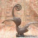 Hornbill Rhino Statue