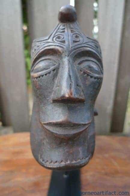 NAGAMORSARANGmmOLDHORNCONTAINERStatueChamberSculptureFigureBATAK