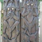 Door Statue