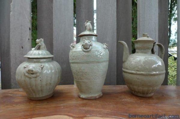 Antique jar