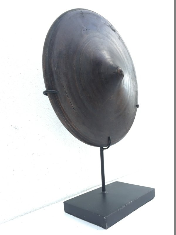 MEGASIZE SPINNING TOP XXXL 280mm/11 GASING Spintop Traditional Tribal Game Asia