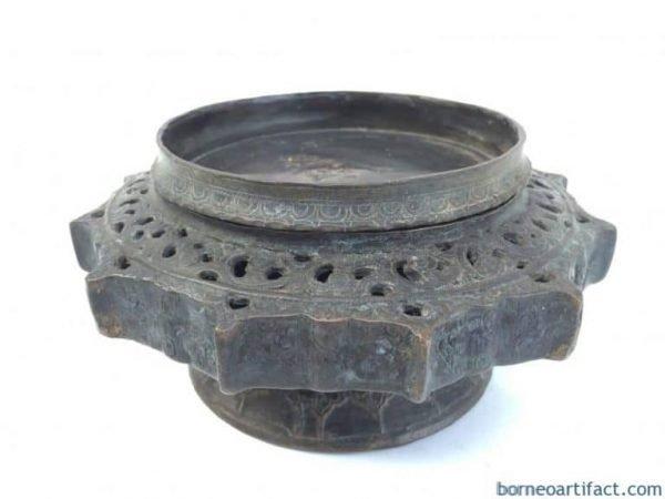 Antique brass ornament