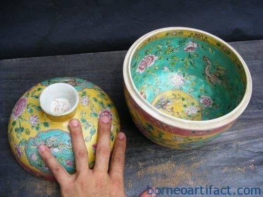 Peranakan Covered Jar