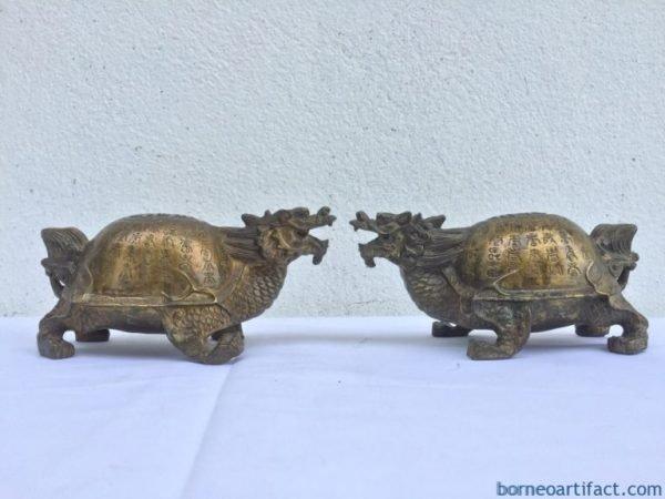 Chinese Brass Statue
