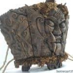 DAYAK MODANG Baby Child Carrier Backpack Sling Bag Borneo Asia Craft Artifact