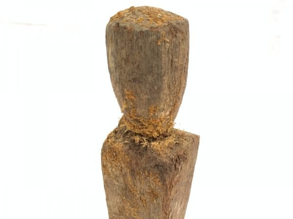 ANCESTRAL IBAN POLE Guardian Images Statue Dayak Sculpture Icon Figure Borneo #6