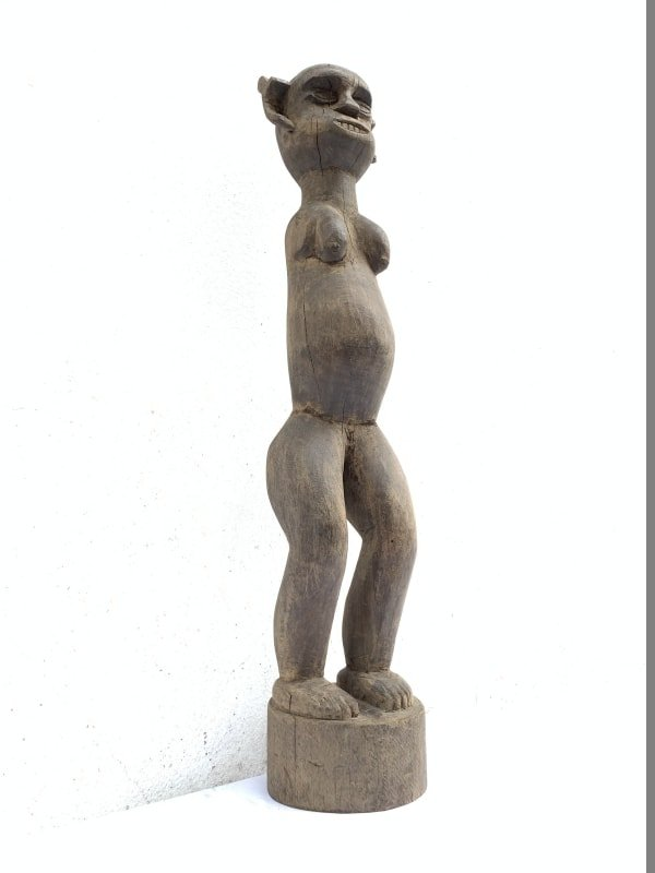 Gallery Art ANCESTRAL STATUE Amputated Figure Icon Image Sculpture Flores Nias Papua