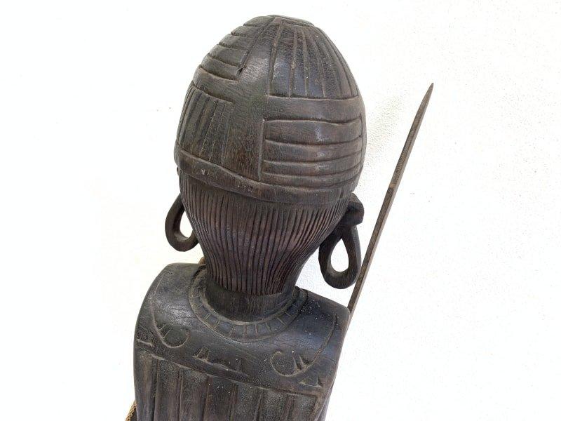DAYAK WARRIOR Sculpture