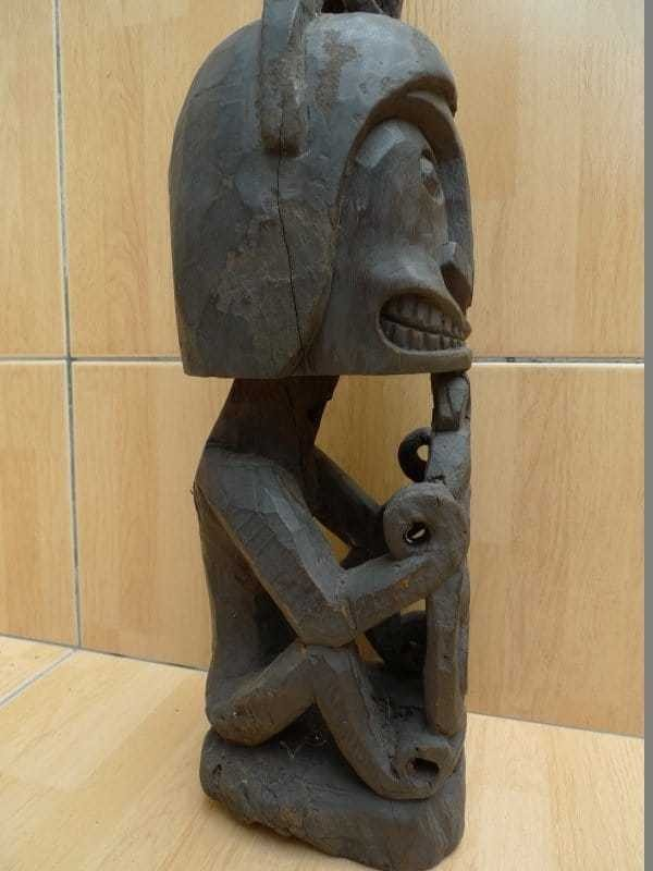 440mm Cenderawasih KORWAR FIGURE Oceanic Art Statue ANCESTRAL Sculpture Images