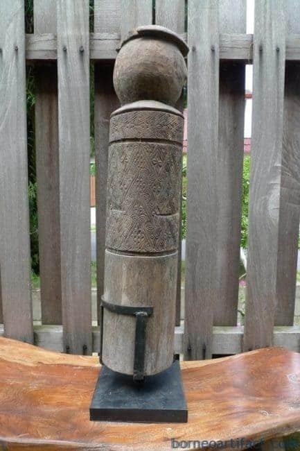 ONE&ONLYmmOLDTAFUTANIMBARLETISTATUESculptureArtefactRitualPole