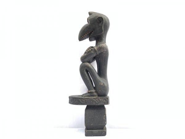 PATUNG TANIMBAR 440mm FERTILITY PENIS STATUE Sculpture Artefact Altar Figure Art