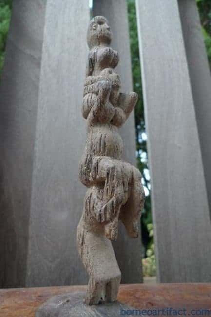 Sculpture artifact borneo