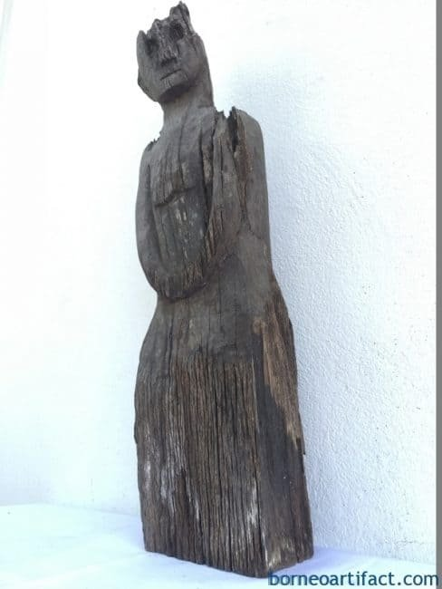 Eroded Weathered Statue