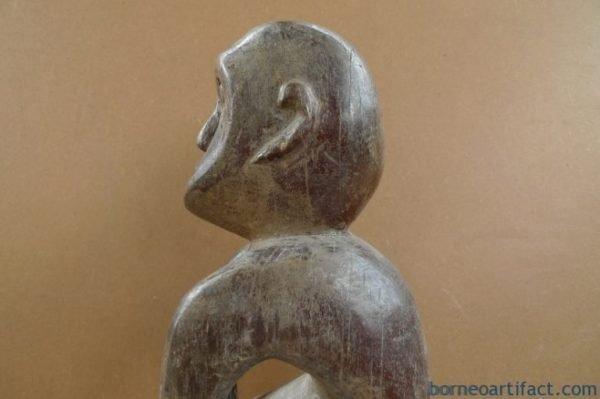 BORNEOTRIBEmm/.NAKEDPENISSTATUEDayakDyakFigureSculptureAsia