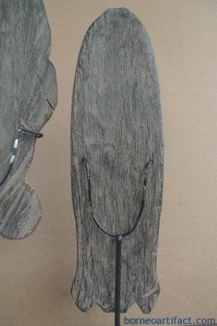 MOTHER&#;CHILD(WithStand)TRIBALMASKNiasSculptureFigureStatueAsiaAsian