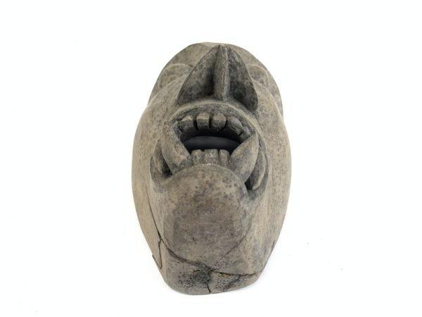 BORNEO MASK OLD ASIAN ARTIFACT Topeng Wood Wall Decoration Face Facial Statue