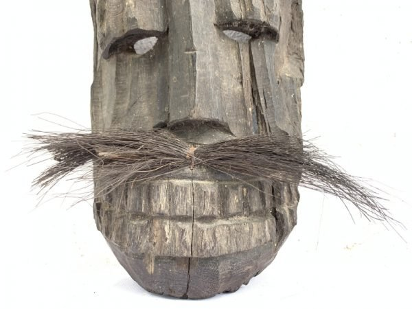 TOPENG DAYAK AHE 310mm PELAIK Native MASK Borneo Facial Face Dyak Tribe Artifact