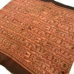 OMEN BIRD Dayak SKIRT Cultural Dress Ikat Bidang SARONG LADIES GARMENT CLOTH #277