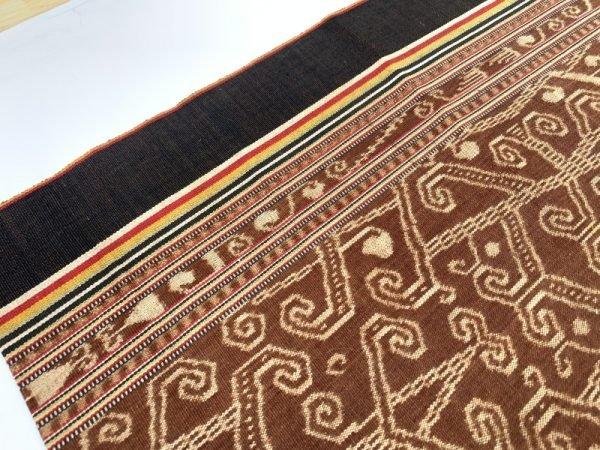 BUAH KALA 560mm DAYAK BIDANG Dress Women Skirt Native Tribal Textile SARONG LADIES GARMENT #312