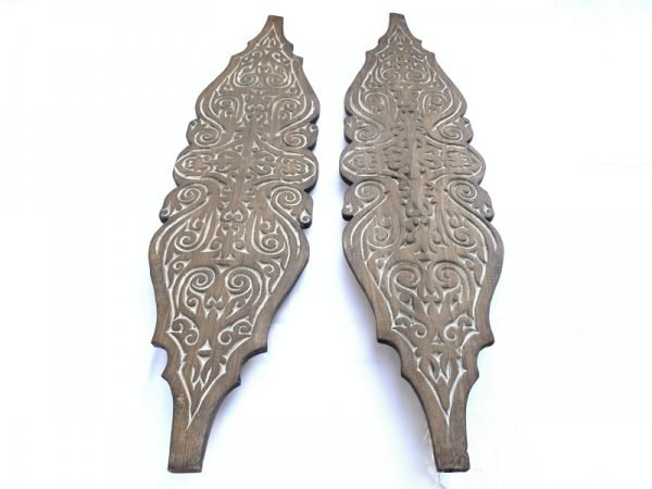 Carved Wooden Shield