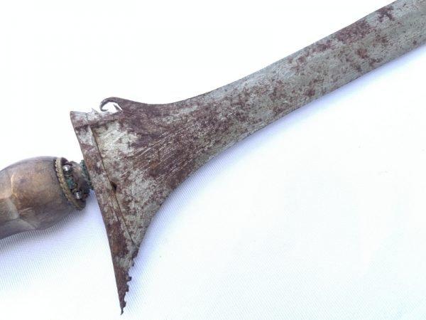 WHITE Weapon KERIS 520mm STUNNING BLADE Knife Blade Dagger Sword Kris Kriss Arms
