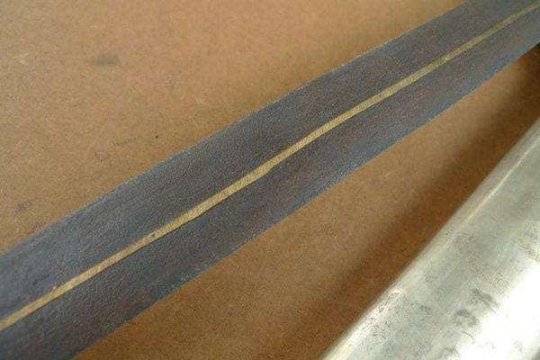KERIS (SHOWER OF GOLD: PAMOR) GOLDEN BLADE Knife Weapon Sword asian dagger Kriss Kris