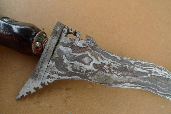 KERIS JAVA Watermelon Skin Blade Knife Weapon Sword Dagger Kris Kriss Asia
