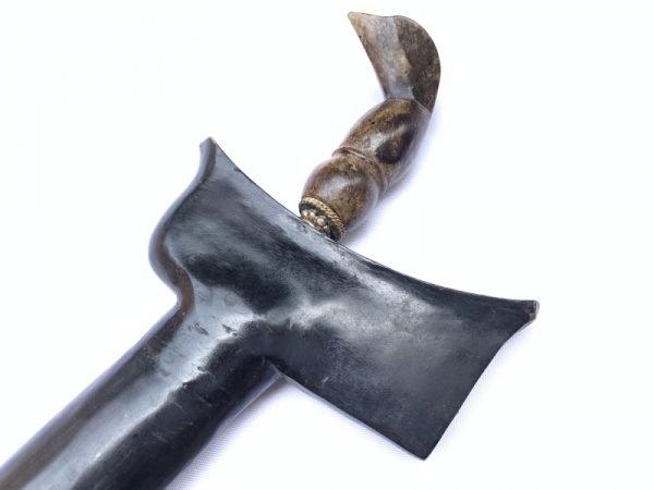 Kris Keris Weapon BLACK MAGIC KERIS ADEQ 460mm Blade Knife Weapon Sword Dagger Asia