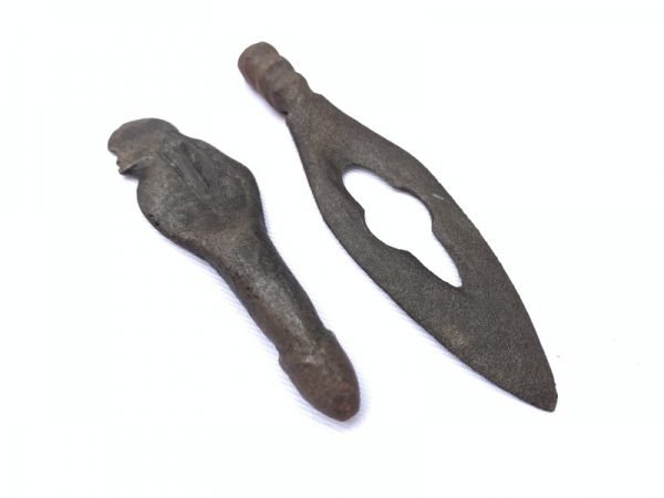 Ritual Kris (Male & Female) Small Kriss Keris Weapon Knife Sword Dagger Arms