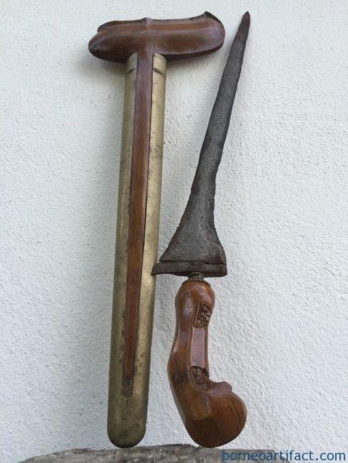 (ANTIQUE KERIS LURUS) Straight Blade Weapon Knife Dagger Sword Kriss Asia Asian