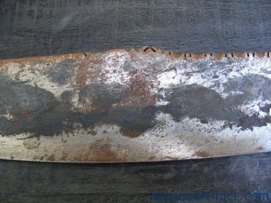 LEFT HANDED SWORD PARANG Head Hunting Butcher Knife Dagger Weapon Sarawak Borneo