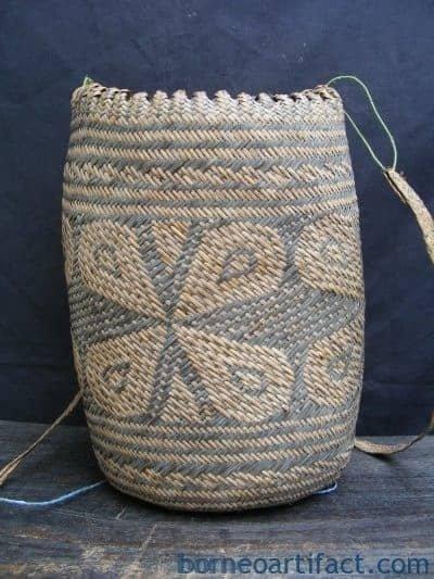 Old Rattan Basket