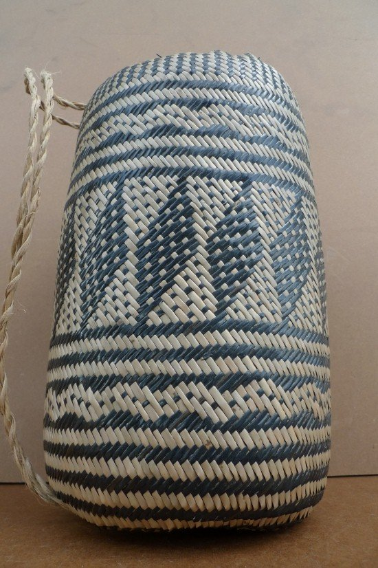 BRAND NEW Ajat / NATIVE BASKET Woven Sling Bag Backpack Camping Traditional #1