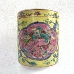 LARGE CHOPSTICK JAR Nyonya Baba Chinese Asia Restaurant Cafe Dining Kitchen