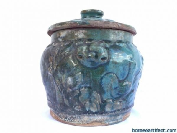 Kamcheng Covered Jar