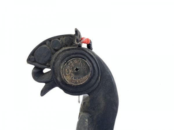 DAYAK CROWN 270mm BIRD STATUE Dayak Women Headdress Old Jewelry Sculpture