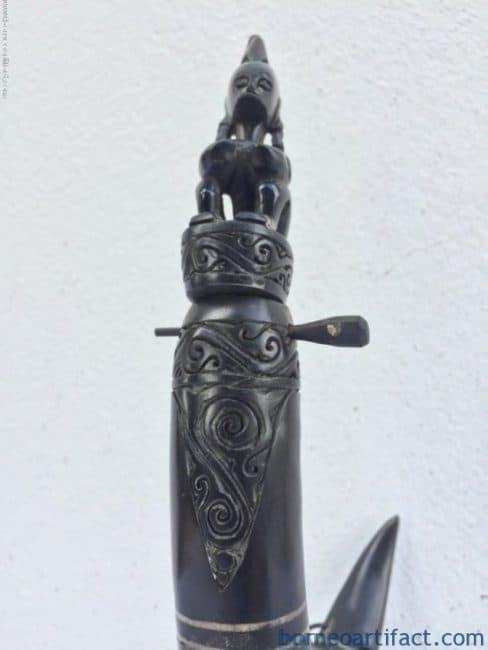 LETIARTIFACTmmANCESTRALSTATUEFigureSculptureIndonesiaOceanicArtBox
