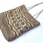 Traditional rattan handbag