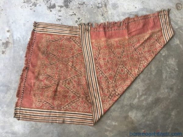 textileofborneommoldauthentictribalblanketfabricwalldecopuakumbu
