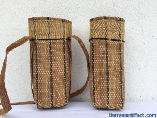 onepairmmborneobasketrattan&treebarktraditionalfiberartslingbagbackpack