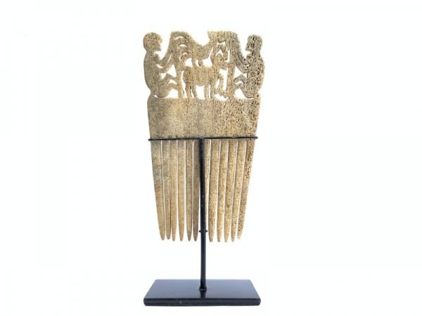 HAI KARA (250mm On Stand) CORAL HAIRPIN headdresses Crown Sumba Indonesia Asia Asian Oceanic Art