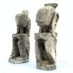 LETI STATUE (1 Pair) Figure Cultural Figurine Artifact Indonesia Oceanic Asian Art Culture