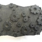 NEPAL NEPALESE Antique Wooden Block Print Stamp Chop Textile Wall Hardwood #2