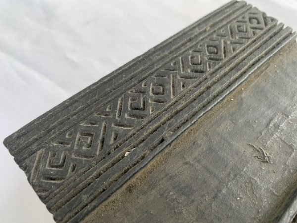 NEPAL NEPALESE Traditional Fabric Stamp Antique Wooden Block Chop Textile Print Sculpture #7