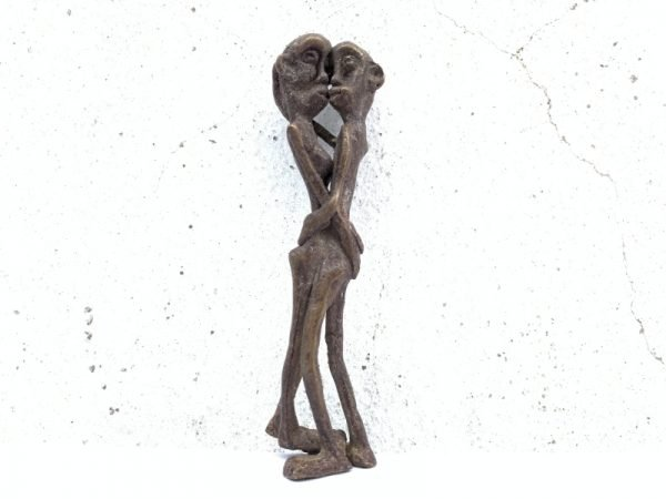 NAKED STATUE 105mm Brass Man Women Male Female Figure Figurine Sexy Asia