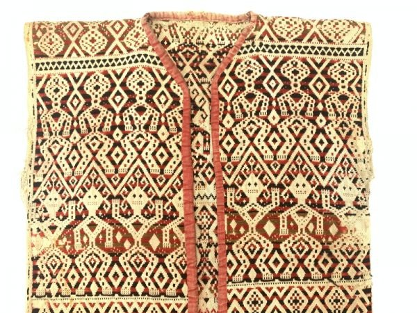 AUTHENTIC WARRIOR JACKET (Arm to Arm 410mm) SHIRT Headhunting Asia Male Tribal Attire Fabric Textile