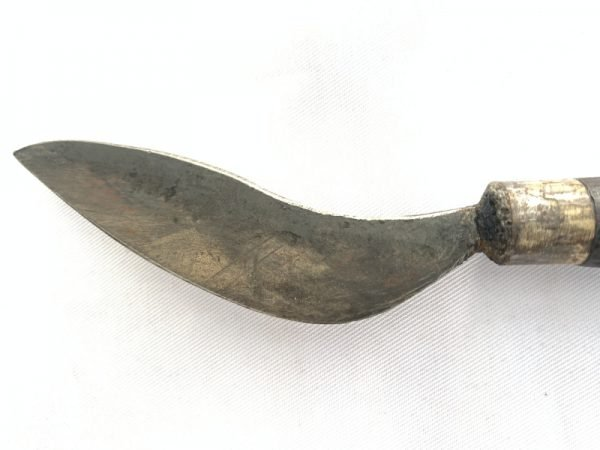 SURVIVOR KNIFE 500mm Traditional Jungle Weapon Deer Horn Authentic Old Tribal Sword