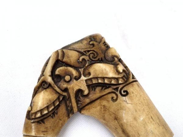 Machete Hilt 135mm Authentic Deer Horn / Antler Handle Grip Parang Dayak Sword Blade Knife Accessory