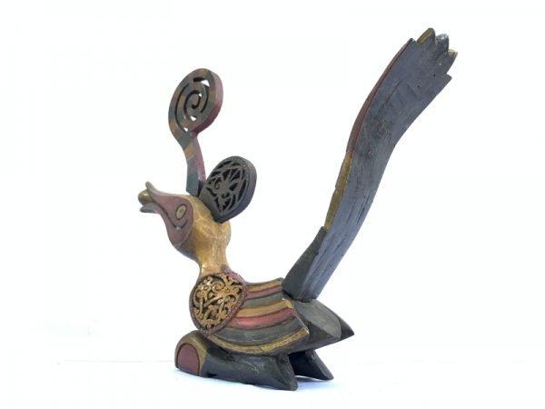 BIRD FIGURINE 490mm Colorful Majestic Hornbill Statue Figure Figurine Sculpture Animal Asia
